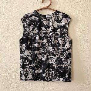 Essential Antwerp Abstract Floral Blouse 38